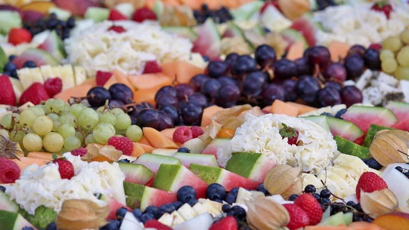 Las comidas típicas de los caterings en verano