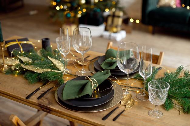 5 ideas para preparar tu mesa en Navidad