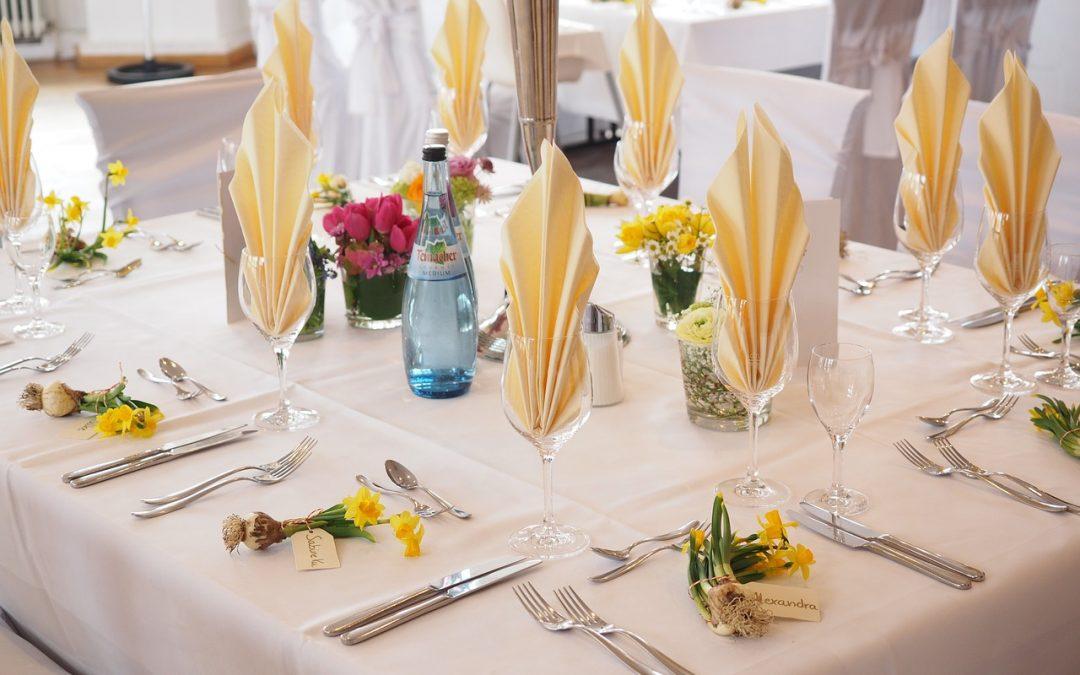 ¿Cómo sentar a los invitados en una boda?